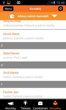 PwC Czech Republic apk screenshot