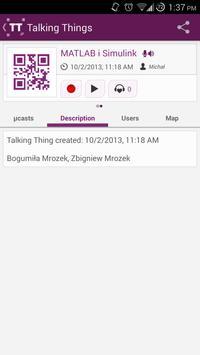 Talking Things apk screenshot