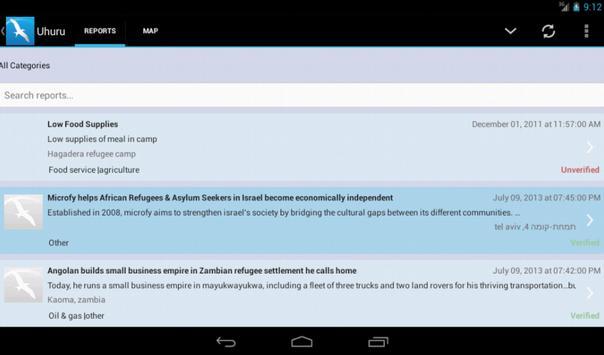 Uhuru apk screenshot