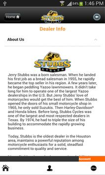 Stubbs Cycles apk screenshot