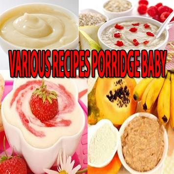 Recipes Porridge Baby apk screenshot