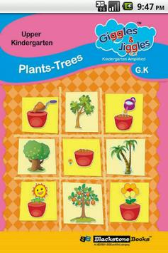 Trees And Plants for UKG Kids poster