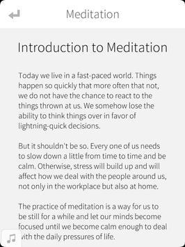 Meditation - Mind and Soul apk screenshot