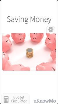 Saving Money - Budget Planning poster