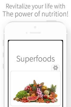 Superfoods - Nutrition Health poster