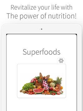 Superfoods - Nutrition Health apk screenshot