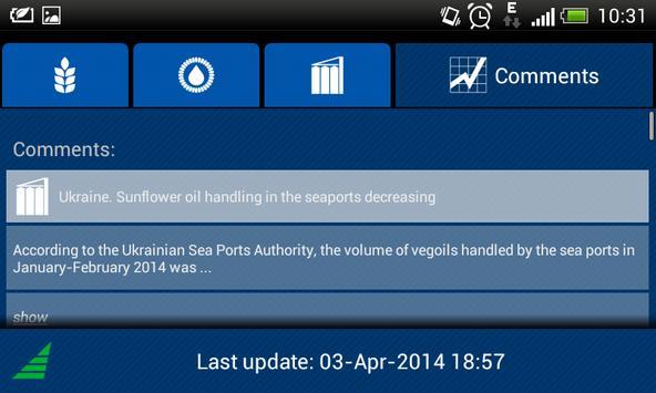 Black Sea Grain & Oil apk screenshot