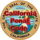 CALIFORNIA PENAL CODE icon
