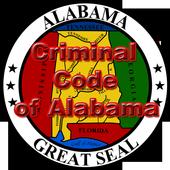 Criminal code of Alabama icon