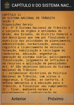 Código de transito Brasileiro apk screenshot