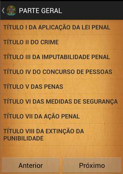 Codigo Penal Brasileiro poster