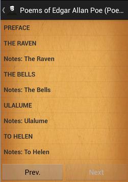 Poems of Edgar Allan Poe poster