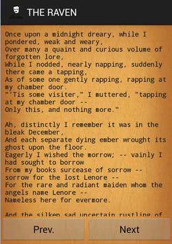 Poems of Edgar Allan Poe apk screenshot