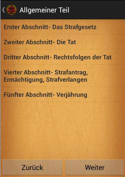 Strafgesetzbuch poster