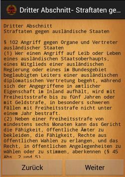Strafgesetzbuch apk screenshot