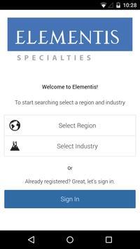 Elementis Specialties poster