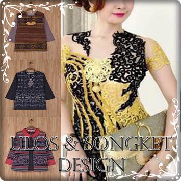 Ulos & Songket Design poster