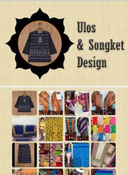 Ulos & Songket Design apk screenshot