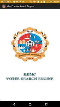 KDMC Voter Search 1.0 poster