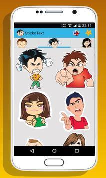 Sticker for whatsapp messenger apk screenshot