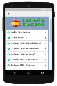 España Radios apk screenshot