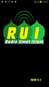 Radio Umat Islam poster