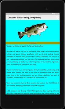 Discover Bass Fishing Compl. apk screenshot