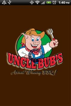 Uncle Bub's Award Winning BBQ poster