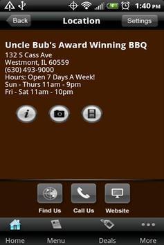 Uncle Bub's Award Winning BBQ apk screenshot