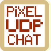 Pixel UDP Chat icon