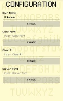 Pixel UDP Chat apk screenshot