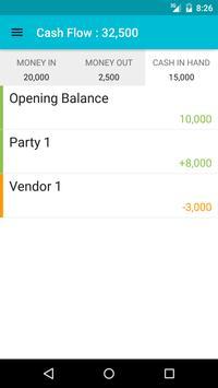 Cash Flow Tracker apk screenshot