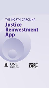NC Justice Reinvestment poster