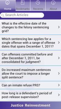 NC Justice Reinvestment apk screenshot