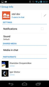 Stel's Messenger apk screenshot