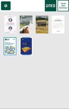 UNED - Aplicación de Lectura poster