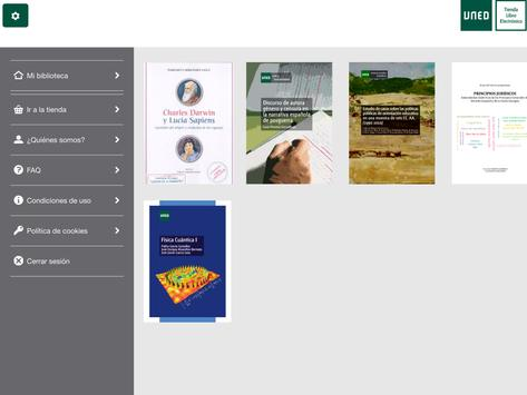 UNED - Aplicación de Lectura apk screenshot