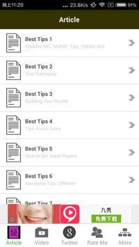 Mobile Guide NFL Madden apk screenshot