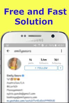 Get More Followers on IG Guide apk screenshot
