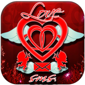 sms Valentines Day icon
