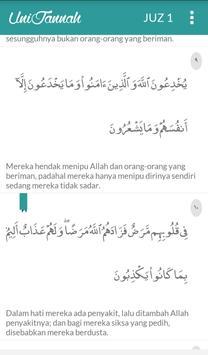 Daily Quran Unijannah apk screenshot