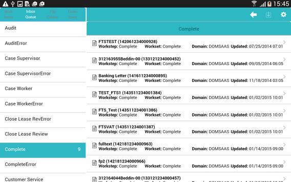 InfoImage Mobile Work Manager apk screenshot