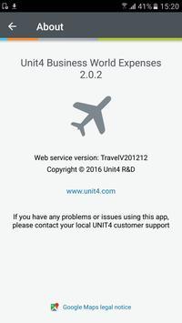 Unit4 Expenses apk screenshot