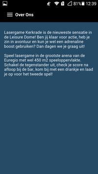 Lasergame Kerkrade apk screenshot