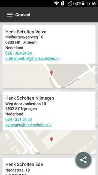 Henk Scholten Volvo apk screenshot