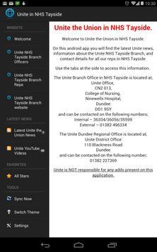 Unite in NHS Tayside apk screenshot