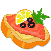 Бутерброды Вкусные рецепты icon