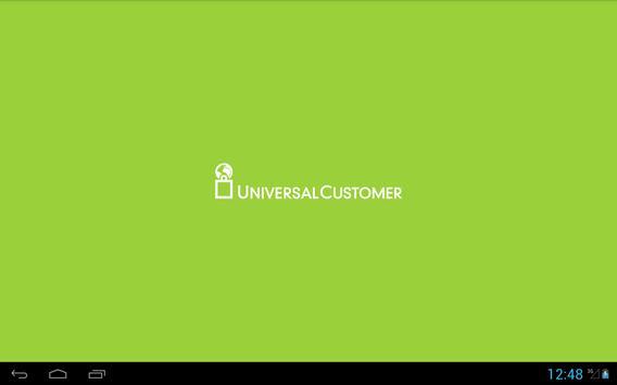 Universal Customer apk screenshot