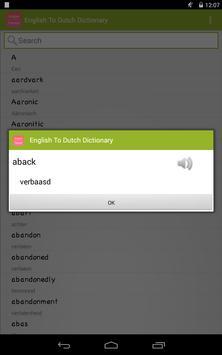 English To Flemish Dictionary apk screenshot