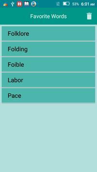 English to Tagalog Dictionary apk screenshot